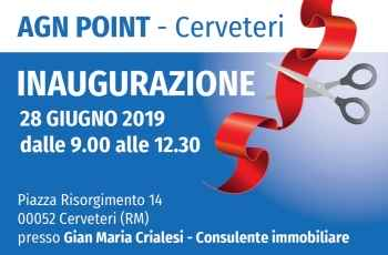 Il nuovo AGN POINT apre a Cerveteri