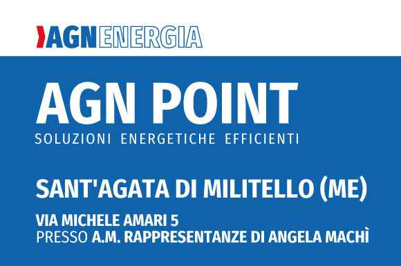 A Sant'Agata di Militello apre un nuovo AGN POINT